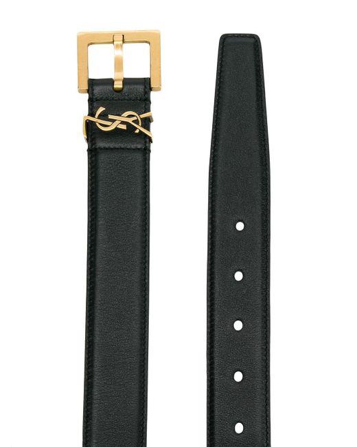 Ремень С Пряжкой Ysl Saint Laurent, цвет: Black