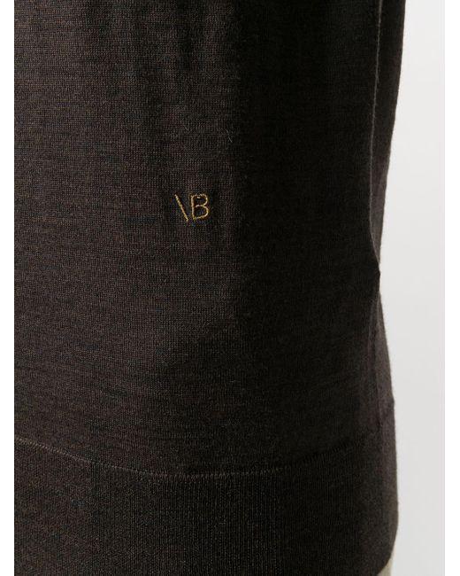 Victoria Beckham ロゴ プルオーバー Brown
