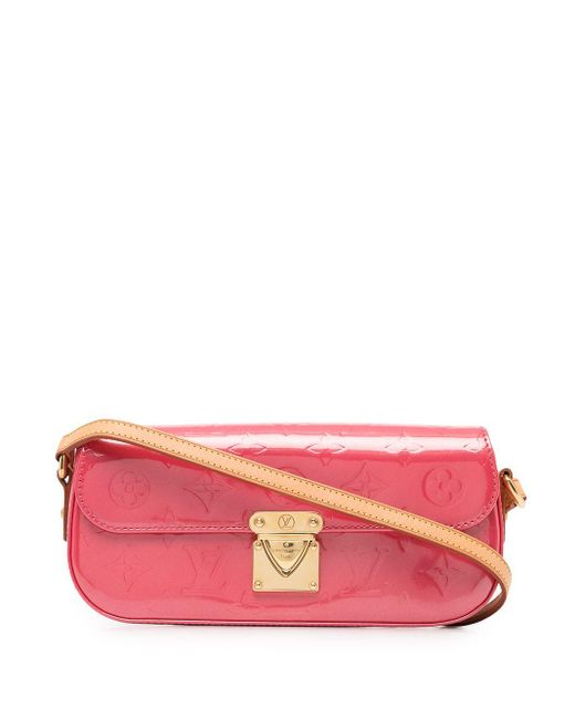 Louis Vuitton 2006 プレオウンド ヴェルニ Malibu Street ショルダーバッグ Pink