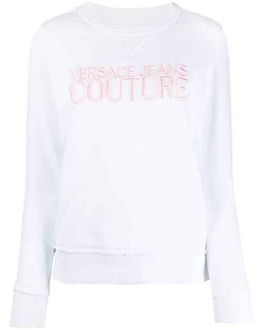 Versace Jeans ロゴ スウェットシャツ White