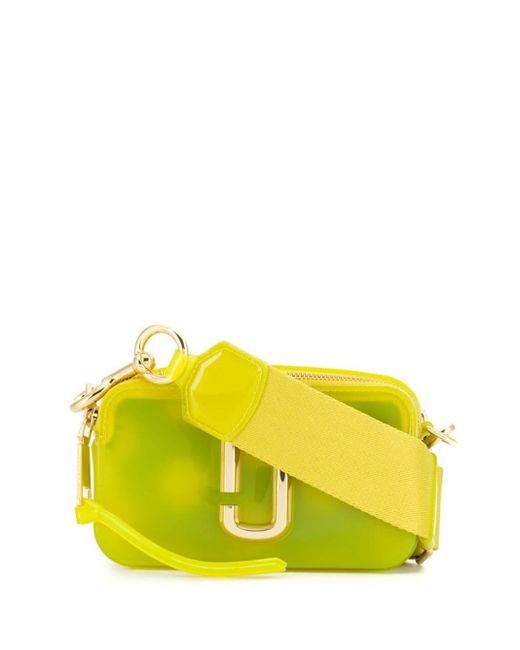 Marc Jacobs The Jelly Snapshot バッグ Yellow