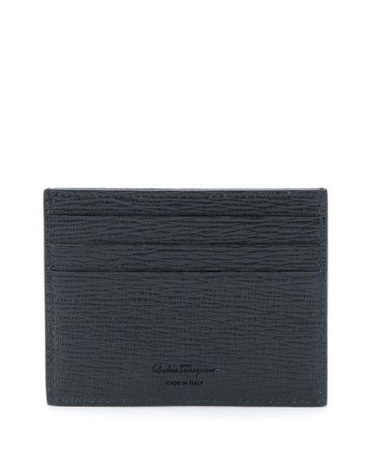 メンズ Ferragamo カードケース Black