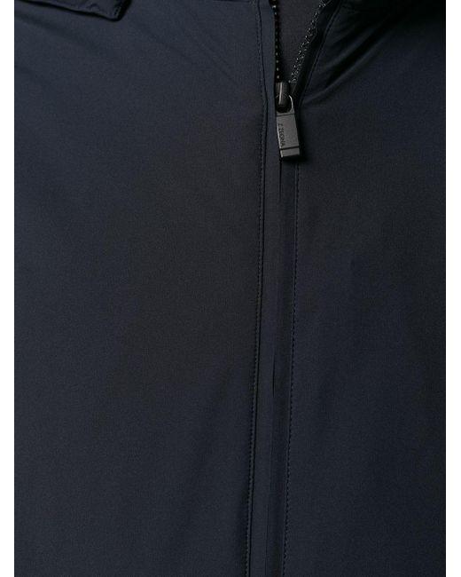 メンズ Z Zegna フーデッドジャケット Blue