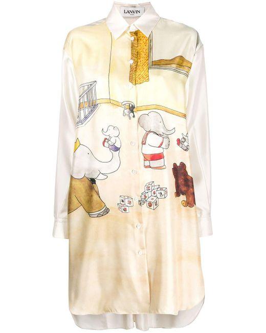 Lanvin Babar ドレス Natural