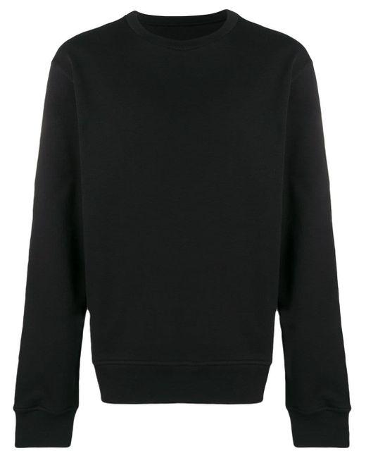 メンズ Maison Margiela エルボーパッチ スウェットシャツ Black