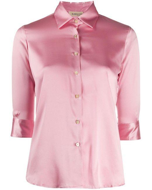 Blanca Vita Camilla シャツ Pink