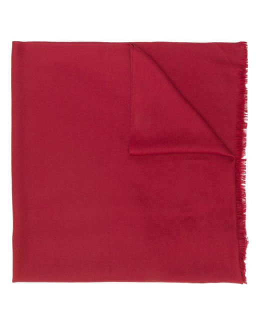 N.Peal Cashmere パシュミナ ストール Red
