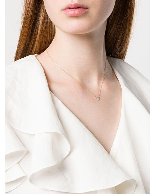 Dana Rebecca Lauren Joy ダイヤモンド ネックレス 14kイエローゴールド Metallic