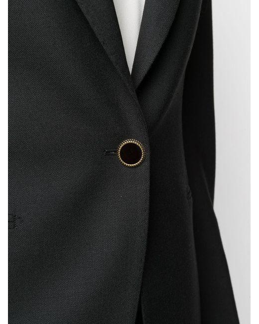 Брючный Костюм Узкого Кроя Tagliatore, цвет: Black
