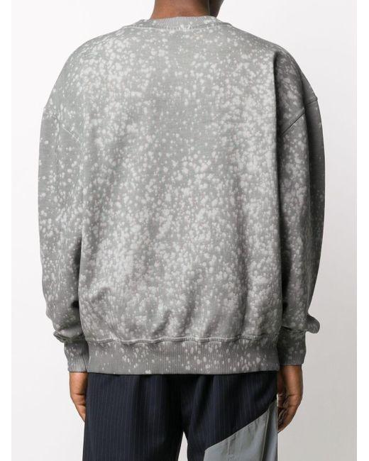 メンズ Daily Paper ロゴ スウェットシャツ Gray