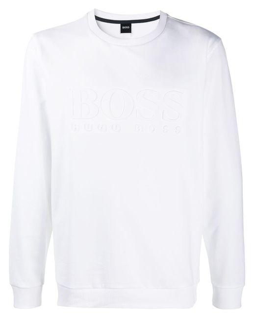 メンズ BOSS by Hugo Boss スウェットシャツ White