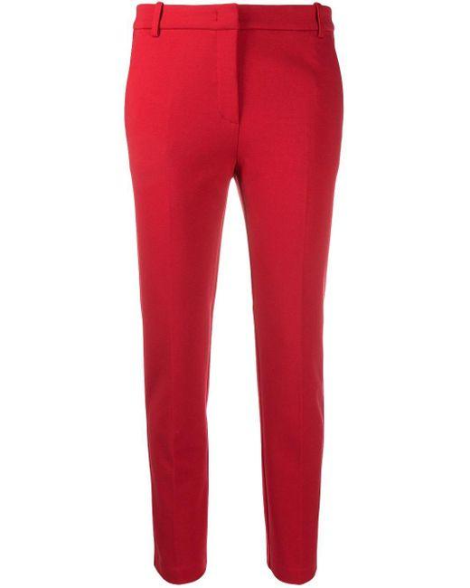 Укороченные Брюки Строгого Кроя Pinko, цвет: Red