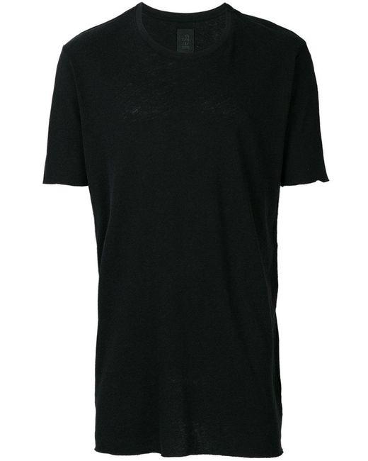 Thom Krom - Black Contrast Stripe Detail T-shirt for Men - Lyst