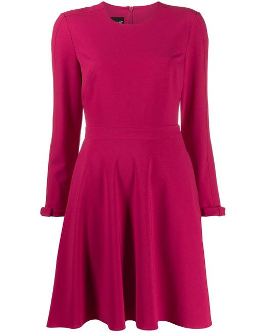 Boutique Moschino クレープ ドレス Pink