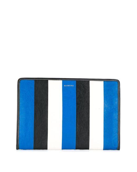 Balenciaga バザール ポーチ Blue