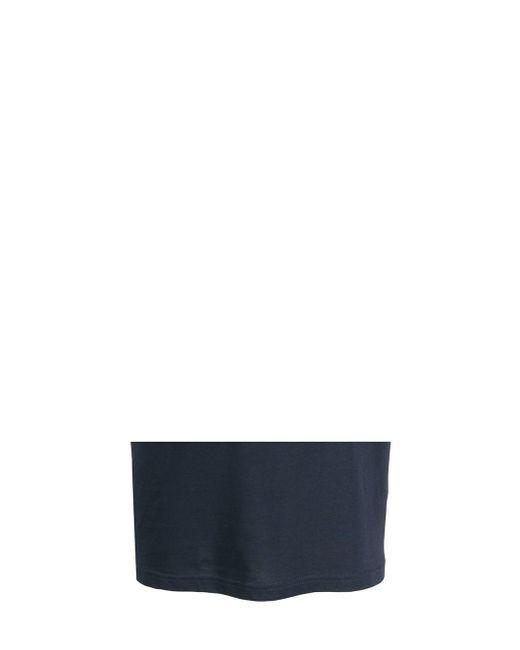 メンズ Sunnei ロゴ Tシャツ Blue