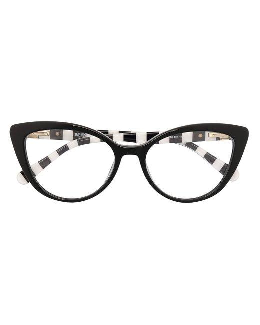 Очки В Оправе 'кошачий Глаз' Love Moschino, цвет: Black