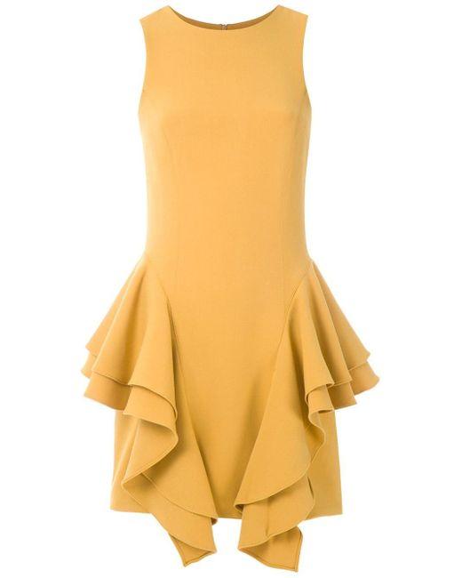 Olympiah ノースリーブ ドレス Yellow