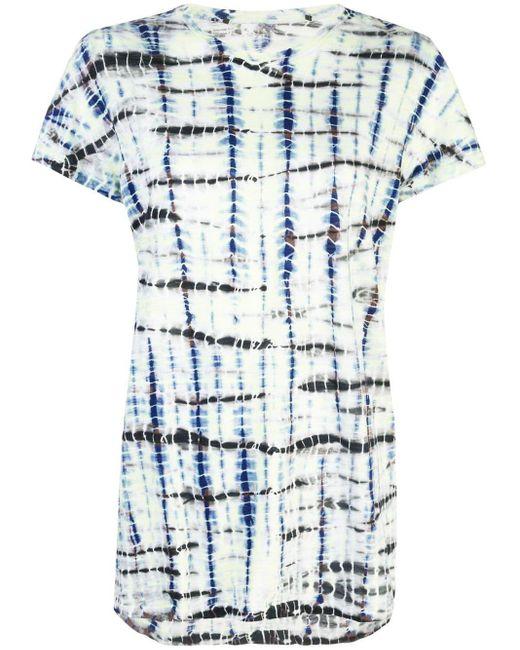 Camiseta con estampado tie-dye Proenza Schouler de color White