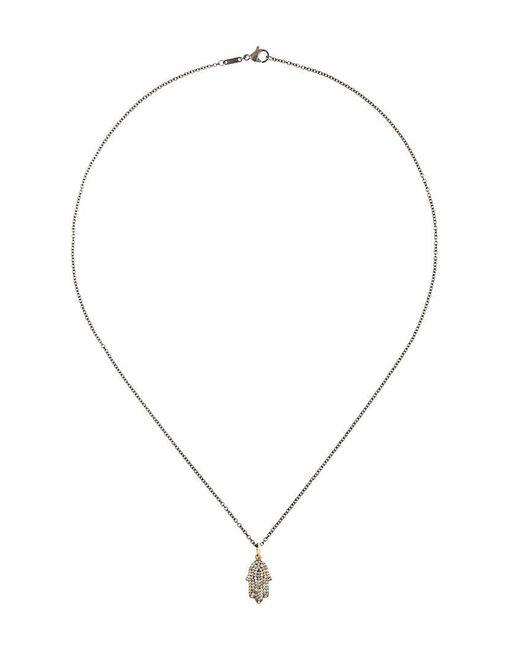 Ileana Makri | Metallic Fatima Hand Pendant Necklace | Lyst