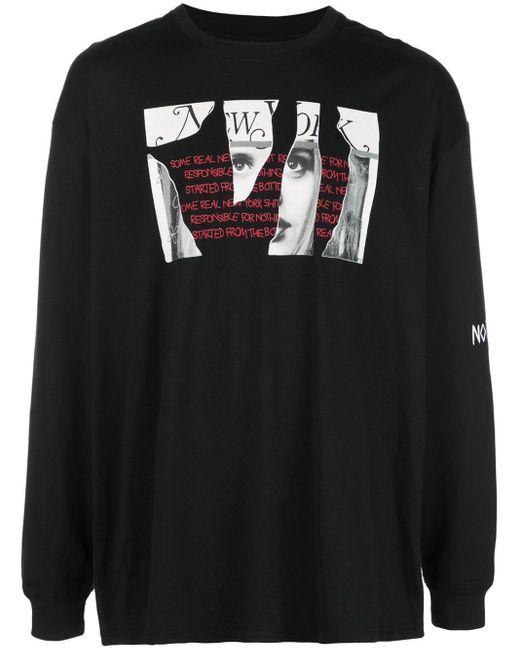 メンズ Haculla Town Away スウェットシャツ Black