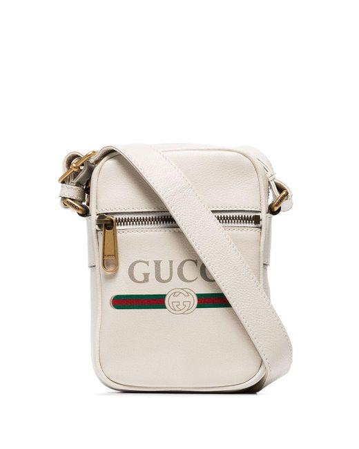 メンズ Gucci プリント ショルダーバッグ Multicolor