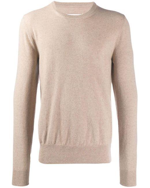 メンズ Maison Margiela クルーネック セーター Multicolor