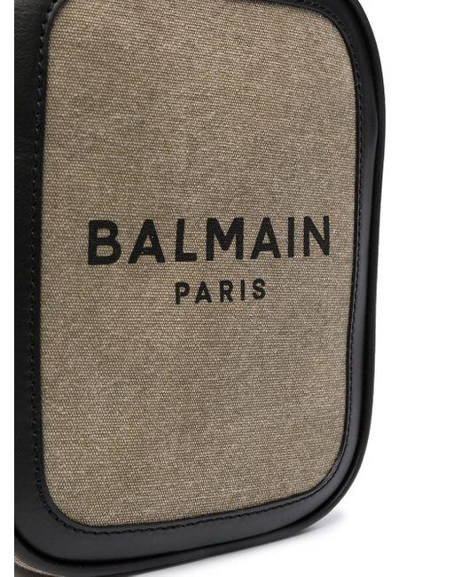 メンズ Balmain B-army 16 ショルダーバッグ Green