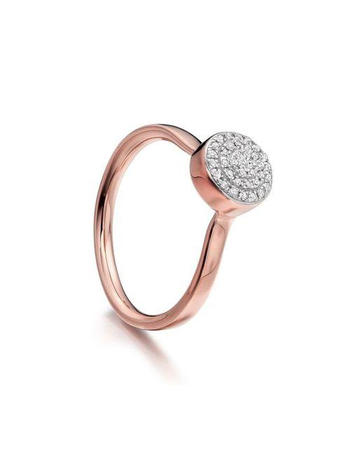 Monica Vinader Gp Fiji ダイヤモンド リング Metallic