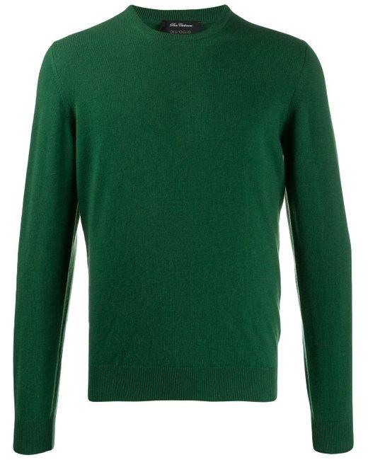 メンズ Dell'Oglio ラウンドネック セーター Green