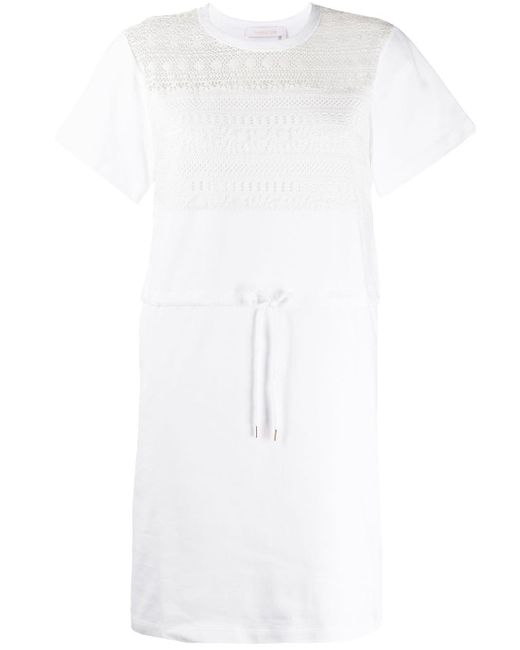 See By Chloé Tシャツワンピース White