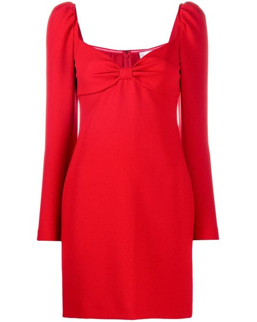 RED Valentino リボン ドレス Red