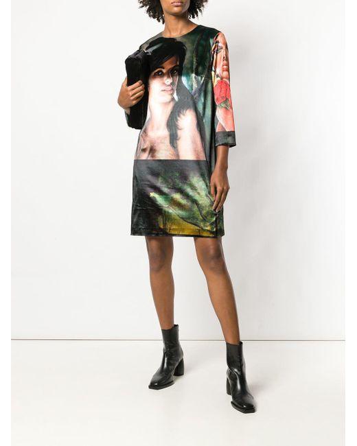 Photographic Print Dress Stella McCartney, цвет: Green