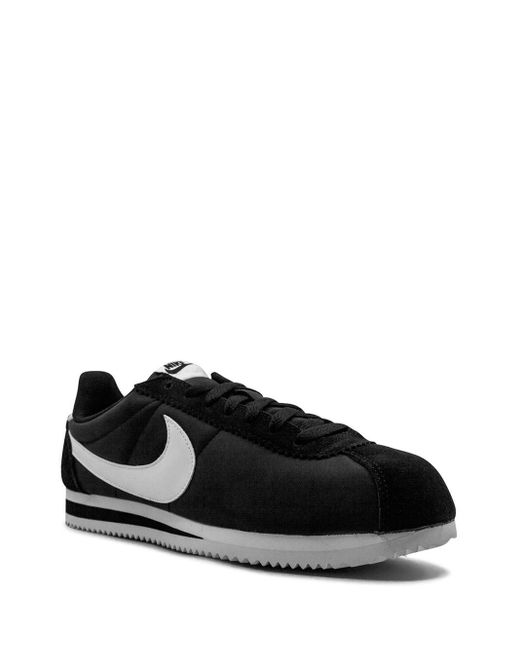 Nike Synthetic Cortez in Black/White