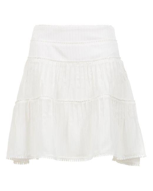 Olympiah Riva フレアスカート White