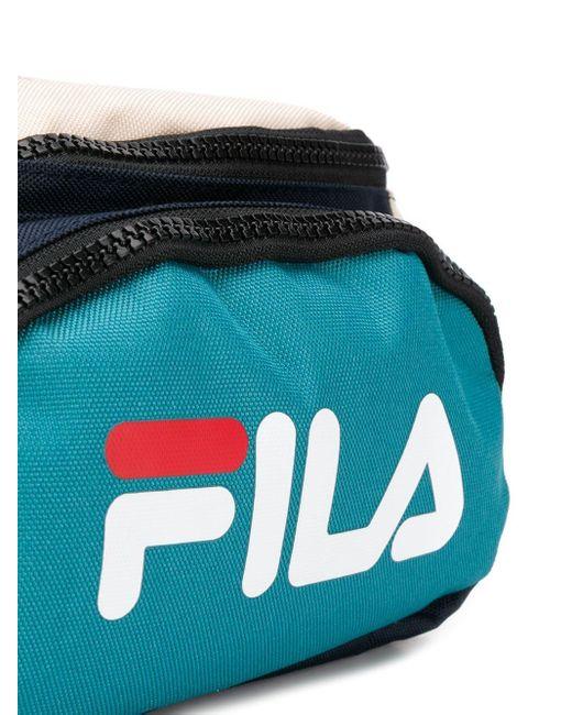 メンズ Fila カラーブロック ベルトバッグ Multicolor