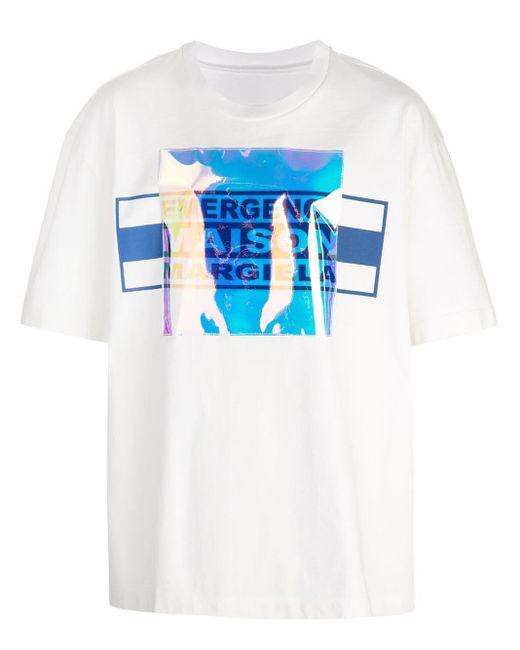 メンズ Maison Margiela レイヤード Tシャツ Multicolor