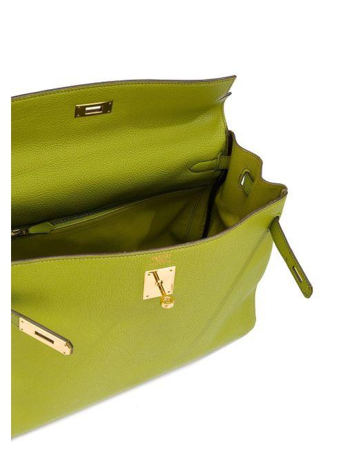 Сумка Kelly Pre-owned Hermès, цвет: Green