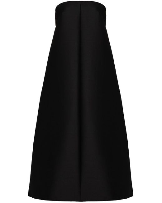 Totême  Sabadell Aライン マキシスカート Black