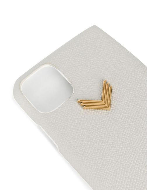 Manokhi ロゴ Iphone 11 ケース White