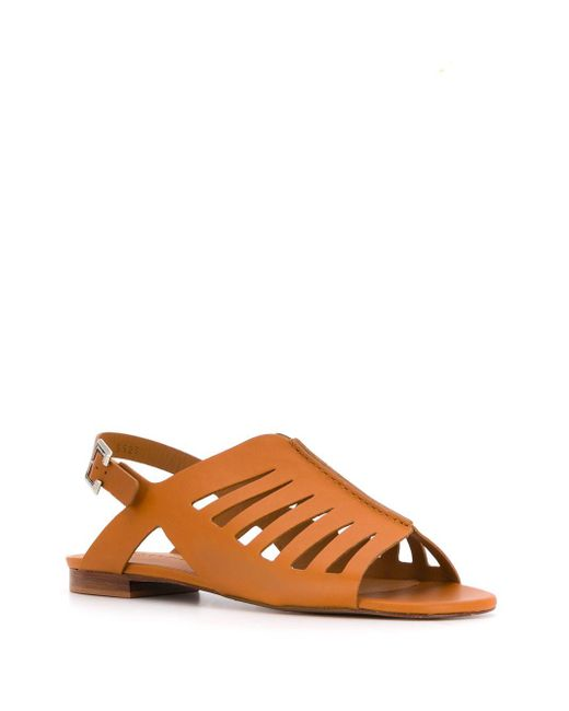 Clergerie Isaura サンダル Brown