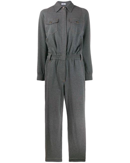 Brunello Cucinelli ジャンプスーツ Gray