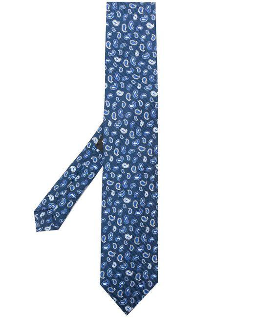 メンズ Etro ペイズリー ネクタイ Blue