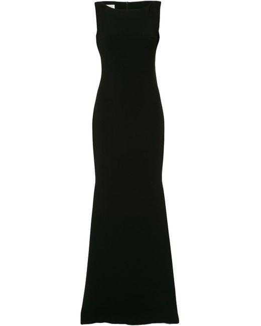 Isabel Sanchis ボートネックドレス Black