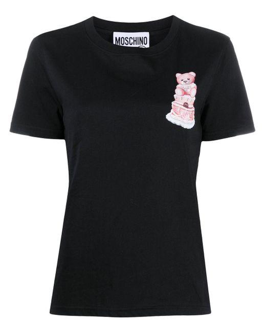 Moschino テディベア Tシャツ Multicolor