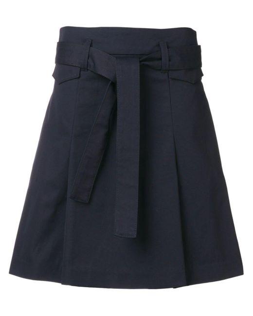 Dorothee Schumacher Blue A-line Skirt
