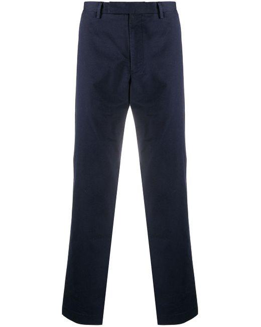 メンズ Polo Ralph Lauren ストレート チノパンツ Blue