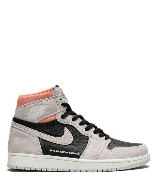 0dd65692cf2029 Nike - Gray Air 1 Retro High Og Sneakers for Men - Lyst ...
