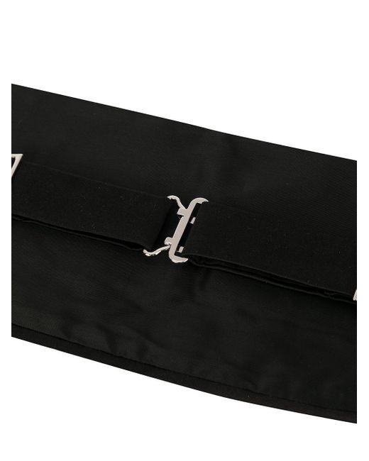Giorgio Armani Kummerbund im Layering-Look in Black für Herren