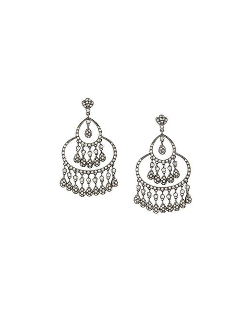 Loree Rodkin | Metallic 'maharajah' Diamond Earrings | Lyst